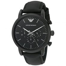 Luigi Chronograph Black Dial Men's Watch G2-AR1970