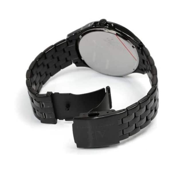 Armani Exchange Smart LP Stainless Steel Black Dial mens Analog Watch AX2144
