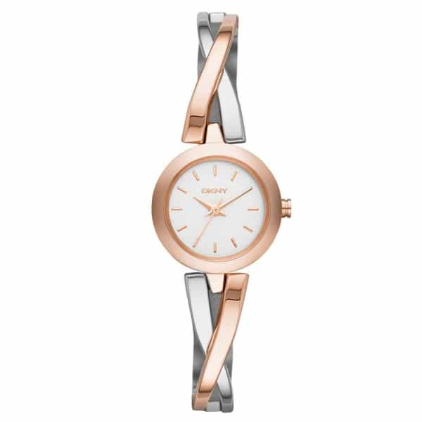 DKNY Crosswalk for Women - Analog Stainless Steel Band Watch - NY2172