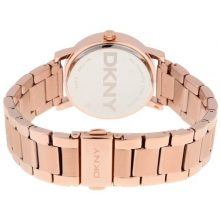 DKNY Soho Women's White Dial Stainless Steel Band Watch - NY2344