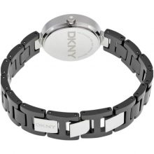 DKNY Women's Black Dial Ceramic Band Watch - NY2355