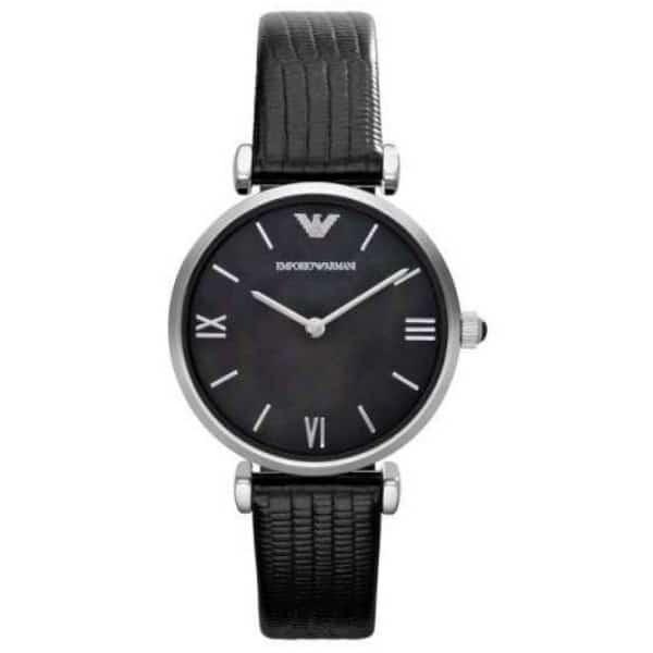 Emporio Armani AR1678 Black Analog Quartz Women's Watch