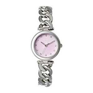 Olive Purple Dial Stainless Steel Ladies Watch G2-ES3577