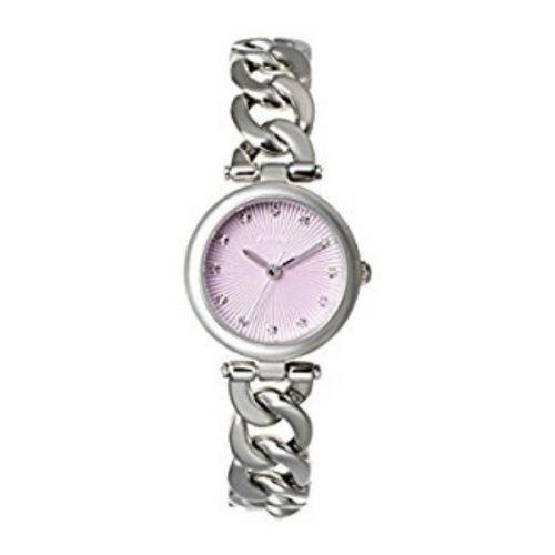 Olive Purple Dial Stainless Steel Ladies Watch G2-ES3577