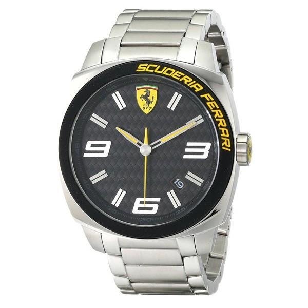 Ferrari 0830168 Stainless Steel Analog Watch - Silver