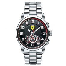 Ferrari 0830197 Stainless Steel Chronograph Watch - Silver