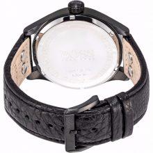 Hugo Boss Aeroliner Maxx Men's Black Dial Leather Band Watch - 1513083