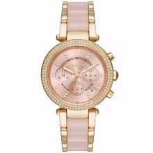 Ladies' Michael Kors PARKER Chronograph Watch G2-MK6326