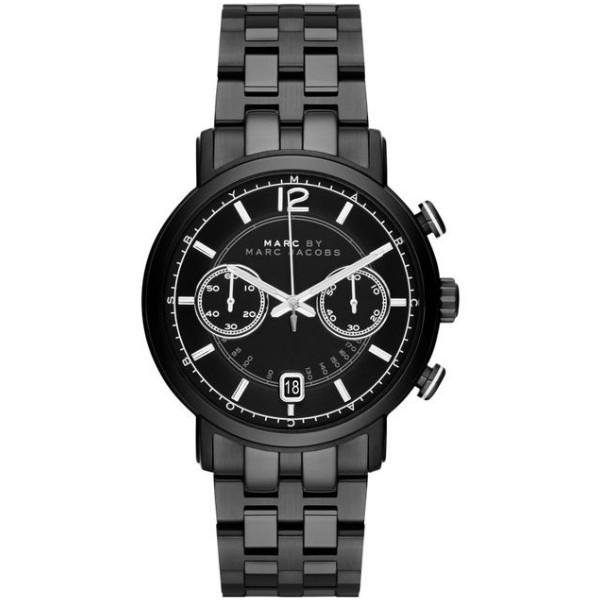 Fergus Chronograph Black Dial Black Ion-plated Men's Watch G2-MBM5065
