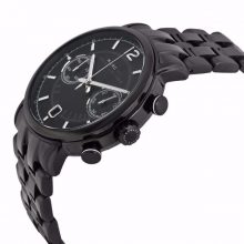 Fergus Chronograph Black Dial Black Ion-plated Men's Watch G2-MBM5065