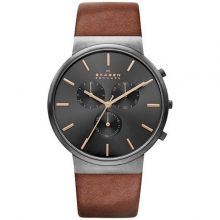 Men's Skagen Ancher Chronograph Watch G2-SKW6106