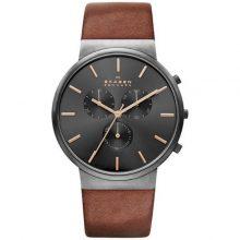 Men's Skagen Ancher Chronograph Watch G2-SKW6106