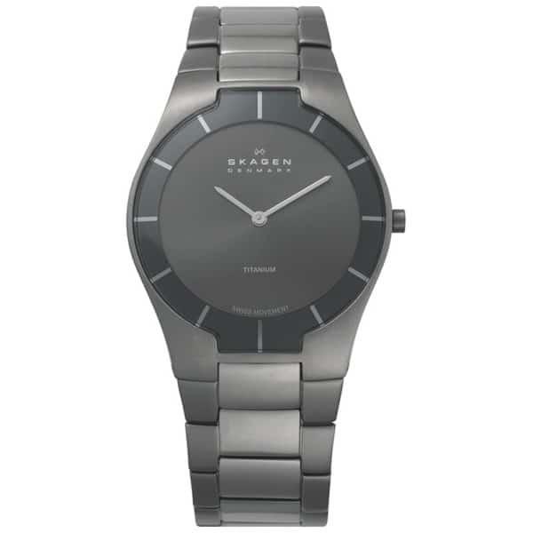 Men's Skagen Black Label Architect Titanium Watch G2-585XLTMXM
