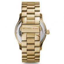 Michael Kors Runway Women's Gold Dial Stainless Steel Band Watch - MK5706