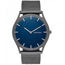 Holst Blue Dial Grey IP Stainless Steel Men's Watch G2-SKW6223