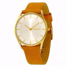Holst Silver Dial Light Brown Leather Ladies Watch G2-SKW2344