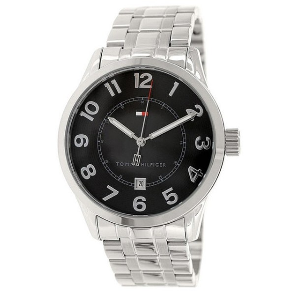 Tommy Hilfiger 1710334 Stainless Steel Quartz Wrist Watch - Silver