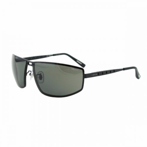 Chopard  Unisex Rectangle Sunglasses - SCH A57 531P Grey Lenses