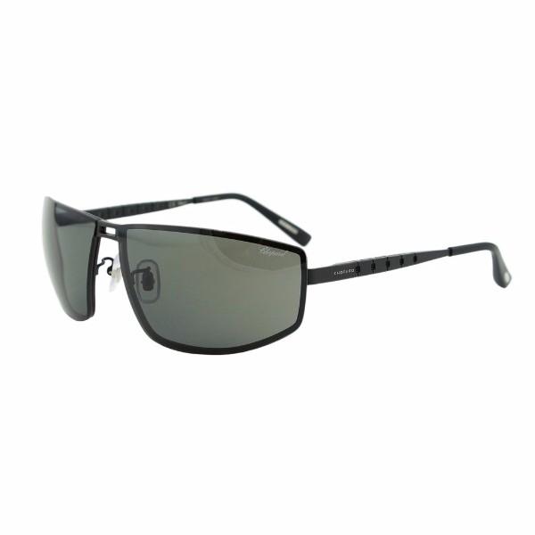 Chopard  Unisex Rectangle Sunglasses - SCH A57 531P Grey Lenses