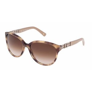 Escada Butterfly Sunglasses for Women - 352 06HN Brown Gradient Lenses