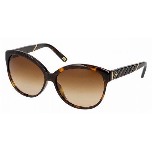 Escada Full Rim Oval Sunglasses for Women - 312 722 Brown Lenses