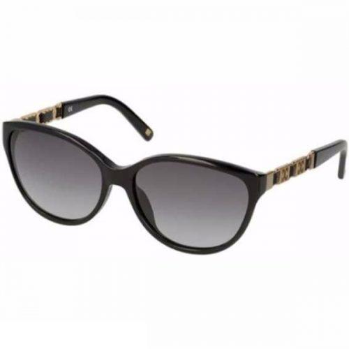 Escada Semi Cat Eye Sunglasses for Women - 305 700 Grey Lenses