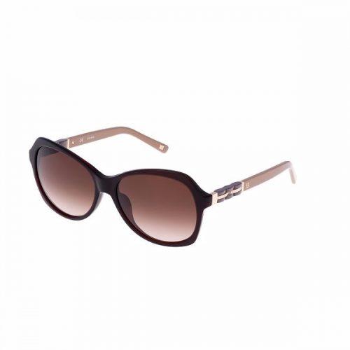 Escada Semi Cat Eye Sunglasses for Women - 342 958 Grey Lenses