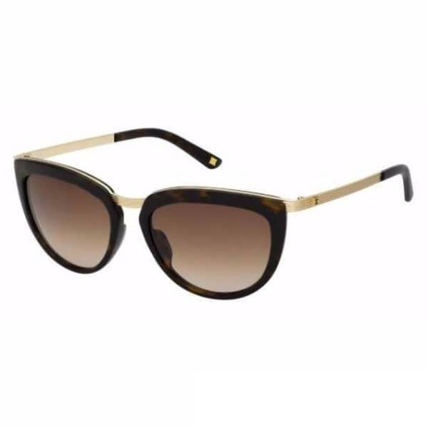 Escada Semi Cat Eye Sunglasses for Women - 806 300 Gradient Lenses