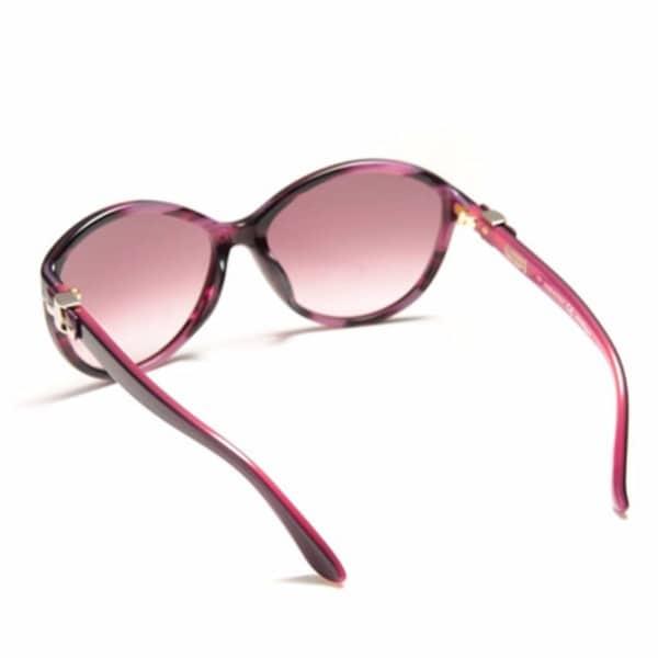 Ferragamo Semi Cat Eye Sunglasses for Women - 645S 533 Purple Gradient Lenses