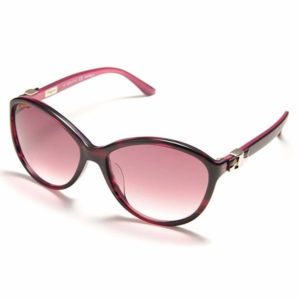 Ferragamo Semi Cat Eye Sunglasses for Women - 645S 533 Purple Gradient Lenses