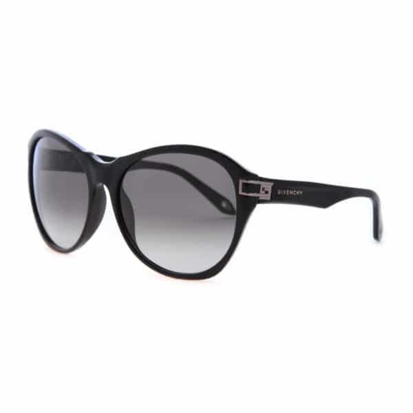 Givenchy Cat Eye Full Rim Sunglasses for Women - 925 700 Black Lenses