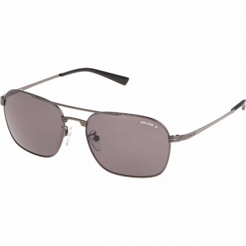 Police Aviator/Navigator Sunglasses for Men - 8952 568 Grey Lenses