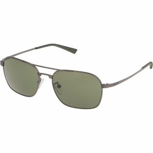 Police Aviator/Navigator Sunglasses for Men - 8952 627 Grey Lenses