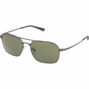 Police Aviator/Navigator Sunglasses for Men - 8952 627 Grey Lenses