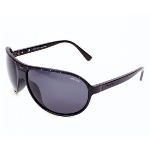 Police  Unisex Oval Sunglasses - 1857 07EP Smoke Lenses