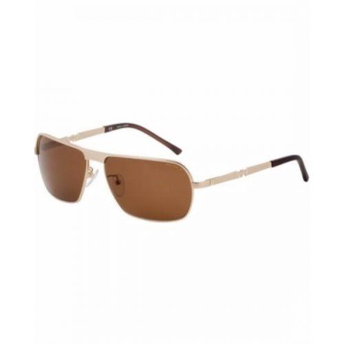 Police Wayfarer Sunglasses for Men - 8745 349P Brown Lenses