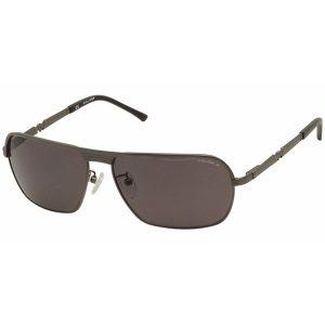 Police Wayfarer Sunglasses for Men - 8745 584P Grey Lenses