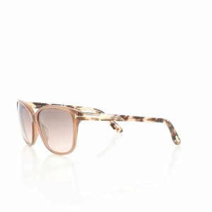 Tom Ford Butterfly Sunglasses for Women - 432 45F Light Brown Gradient Lenses