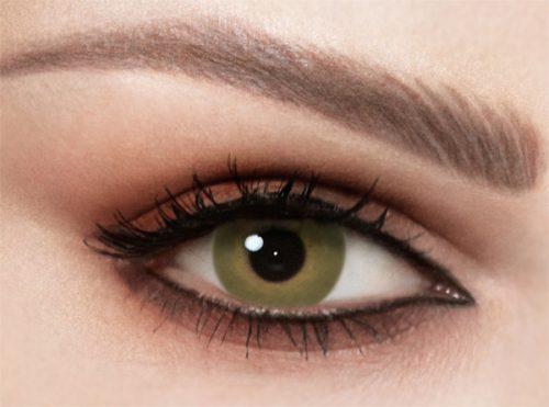 Celena Natural Forest Green Lenses