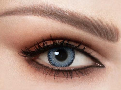 Celena Shaded Night Blue Lenses