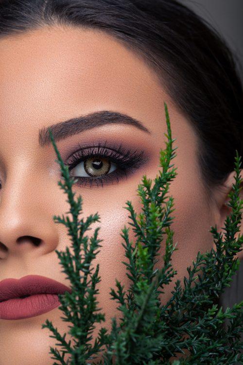 Celena Shaded Glam Green Lenses