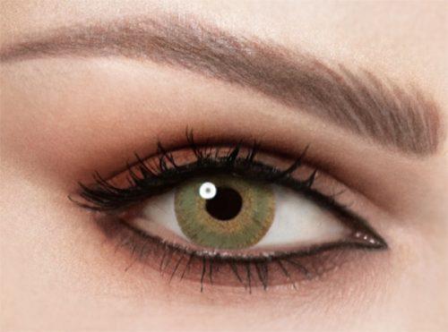 Celena One Day Olive Green Lenses